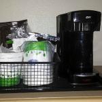 Máquina de café do quarto