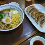 Pork Ramen and yummy Gyoza