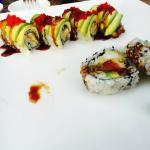 Even the green dragon roll tasted bland and comes in an unusuallly small size