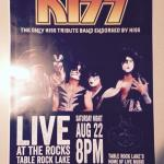 Aug 22 at The Rocks Lakeside Grill, The ONLY band endorsed by 