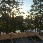 Aussicht vom Zimmer auf den Hafen von Neuchatel