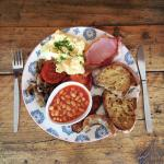 'The Works' daytime breakfast