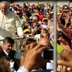 le pape grâce à l'invitation à l'audience du mercredi