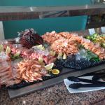 The prawn selection
