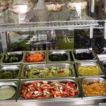 Saladas . Sobremesas
