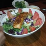 Simply Grilled Salmon w/ house salad