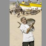 Chef Dany with big fish