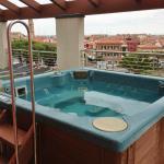 Dachterrasse mit Whirlpool