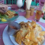 Meal we had The Drunken Squid