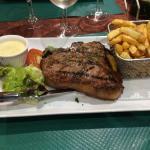 T-bone de veau!! Au top :)