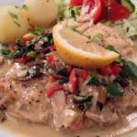 """Pan-fried Cod """"gourmet style"""""""