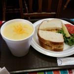 Soup & Sandwitch.
