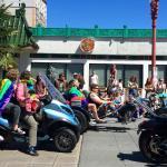 Pride parade going through Chinatown