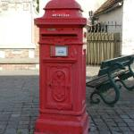 an vintage post box