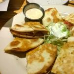 bacon and chicken ranch quesadillas with ranch
