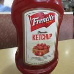 Not Heinz, Not Hunts ... but FRENCH'S !