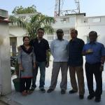 My Family with the Manager Mr. Ram Gupta