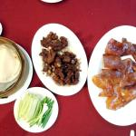 Peking Duck with Garlic-fried Duck Meat