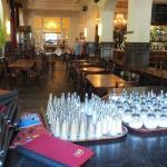 Blick ins große Cafe Beethoven