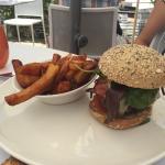 Le hamburger spécial