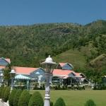 Reception, restaurant & lawns