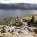 Top of Cat Bells a must do local walk