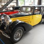 Bugatti Museum T57 exhibition Museum AUTOVISION