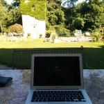Working outside with wifi