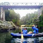 The Pelorus bridge at Pelorus River, Marlborough Sounds, South Island, New Zealand