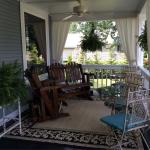 Spacious covered porch.