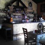 A fully stocked bar!