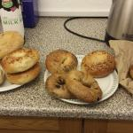 Bagels flown in to Scotland