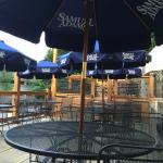 New and renovated patio.