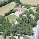 Aerial view Domaine de Saint Clement