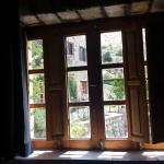 Desde la ventana de la habitación azul.