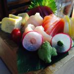 My favorite the Chirashi platter