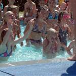 Giochi in piscina!