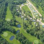 Aerial of RV Park and Golf Course