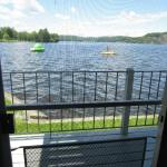 View of lake from efficiency rooms