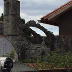Ruinas de la Iglesia Santa Maria Dozo en Cambados
