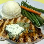 Swordfish with Jalapeno Butter