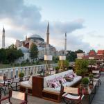 O Four Seasons Sultanahmet fica ao lado da Agya Sofia