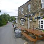 Arriving at the Arncliffe Arms
