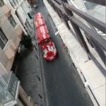 View from my balcony - Tourist Train Coming by!