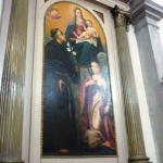 Madonna, bambino y San Antonio