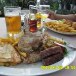 mixed meat plate