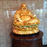 Buddha at the enternace