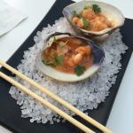 Shrimp, flounder & clam ceviche