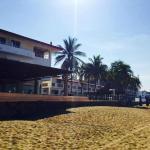 Vista del Restaurante desde la playa