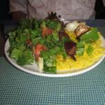 Lamb Shish Kebab dish